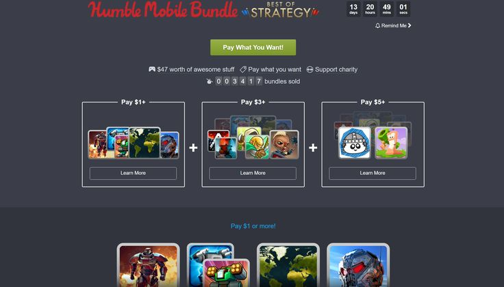 The Latest Humble Mobile Bundle Focuses On Strategy Games #Android #Google #news