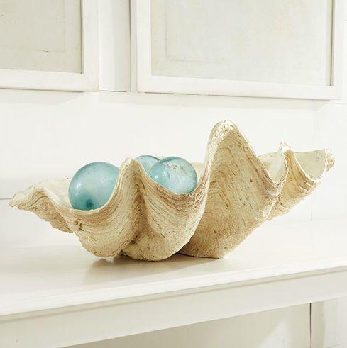 Everything Coastal....: 12 Inspired Clam Shell Ideas