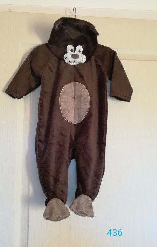 9c55ca1160b5f Sur-pyjama pyjama déguisement mixte 6 mois ours - Jamais porté. Pyjama avec  fermeture