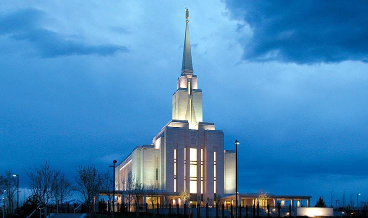 Oquirrh Mountain Utah Temple. #MormonTemple