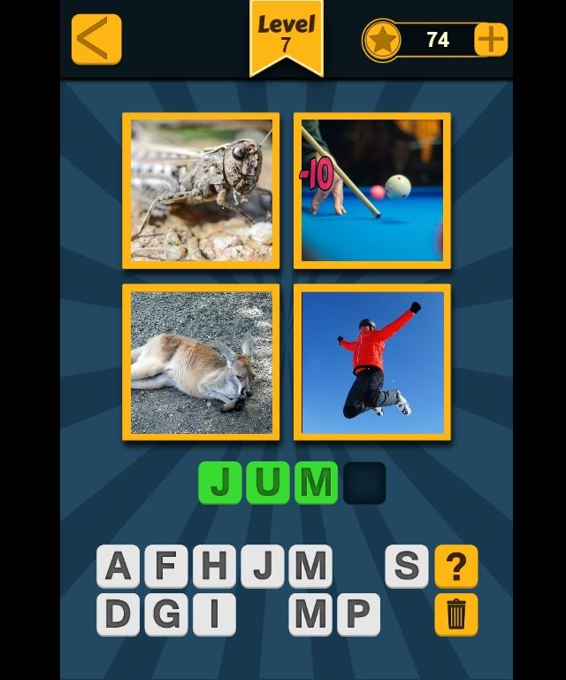 4 Picture 1 Word Construct 2 Game Games Words Picture