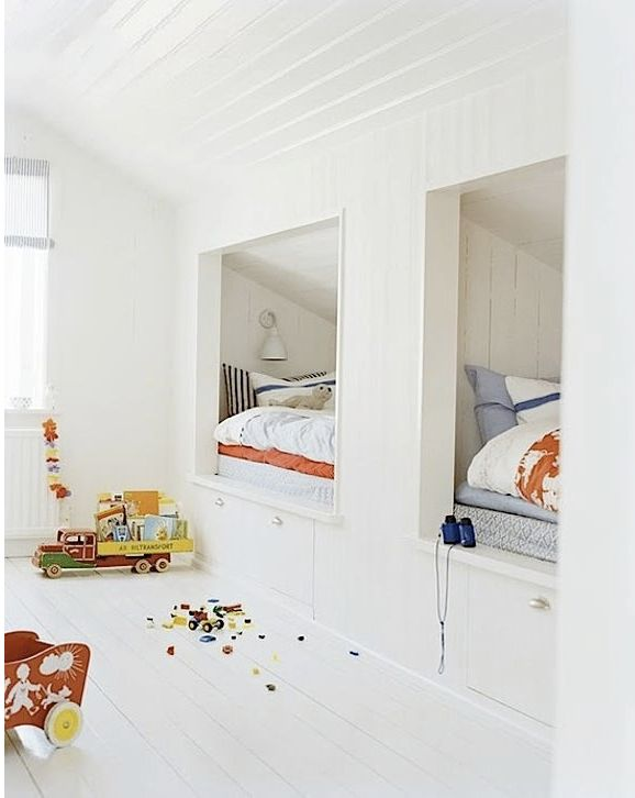 8 Incredible Built-In Beds for Your Kid's Room