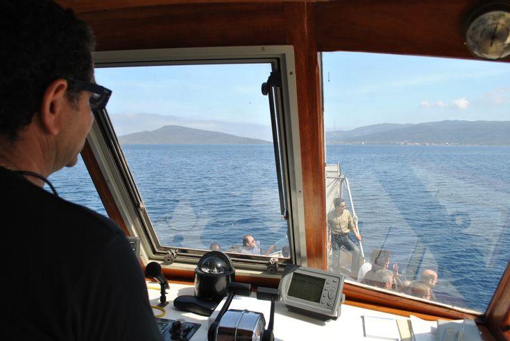 Meeting internazionale su ambiente e turismo a Stintino: 8 giugno 2013 l'Asinara dalla barca