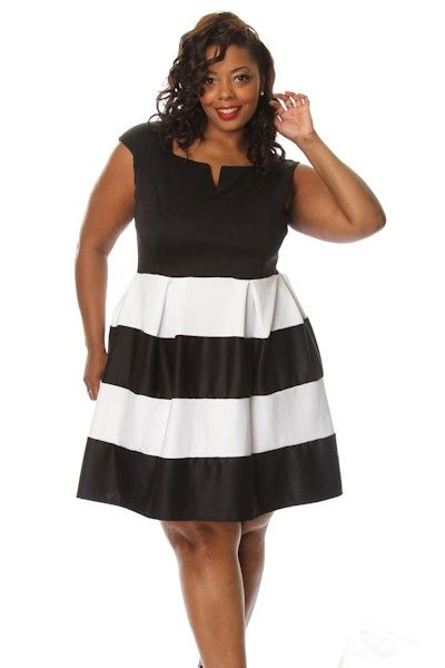 Black dress plus size and luncheon