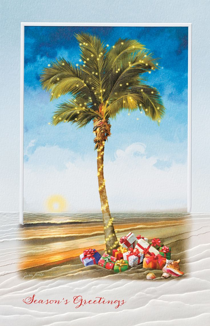 9 best personalizable warm weather beach cards images on pinterest christmas palm tropical beach christmas card christmascards4less kristyandbryce Gallery