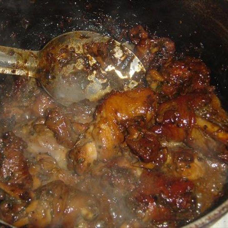 Trinidad Stewed Chicken Recipe