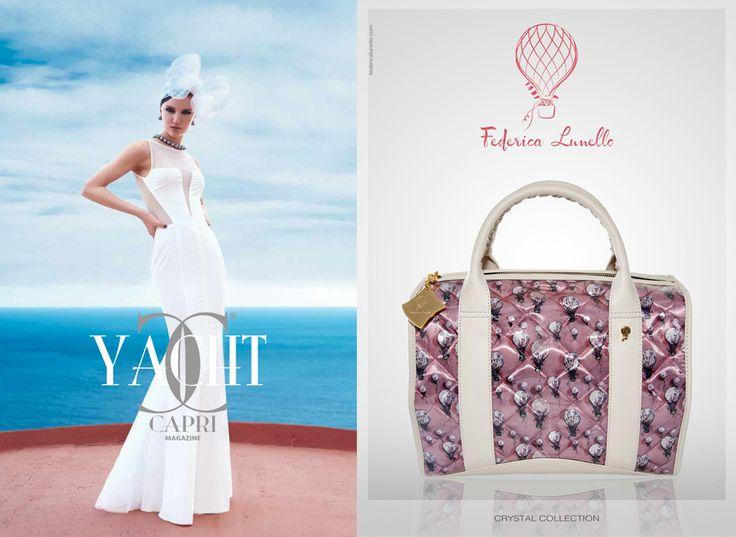 July 2014 - ADV su Yacth Capri www.federicalunello.com #federicalunello #bags #accessories #madeinitaly #handmade