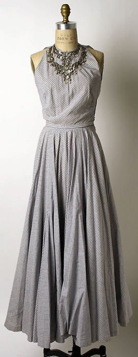 Mainbocher, 1948    The Metropolitan Museum of Art: Evening Dresses, Summer Dresses, Dresses Mainboch, Dresses Skirts, Full Circles Skirts, Clothing Fashion, Fashion Style Dreams, Metropolitan Museums, Full Skirts Dresses