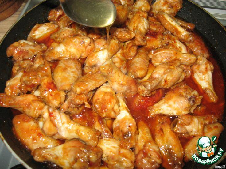Куриные крылышки по-китайски - кулинарный рецепт