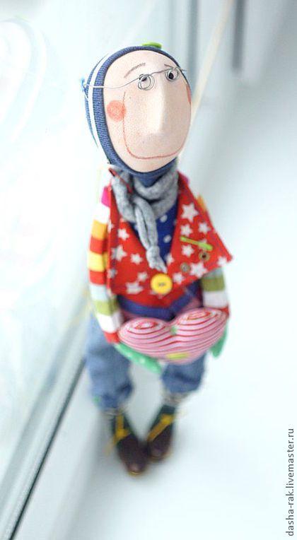 """Коллекционные куклы ручной работы. Ярмарка Мастеров - ручная работа серия """"идеальные мужчины-ангелы"""". Handmade."""