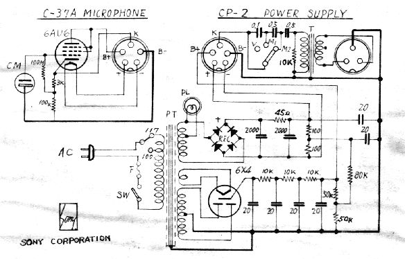 sony c37a schematic