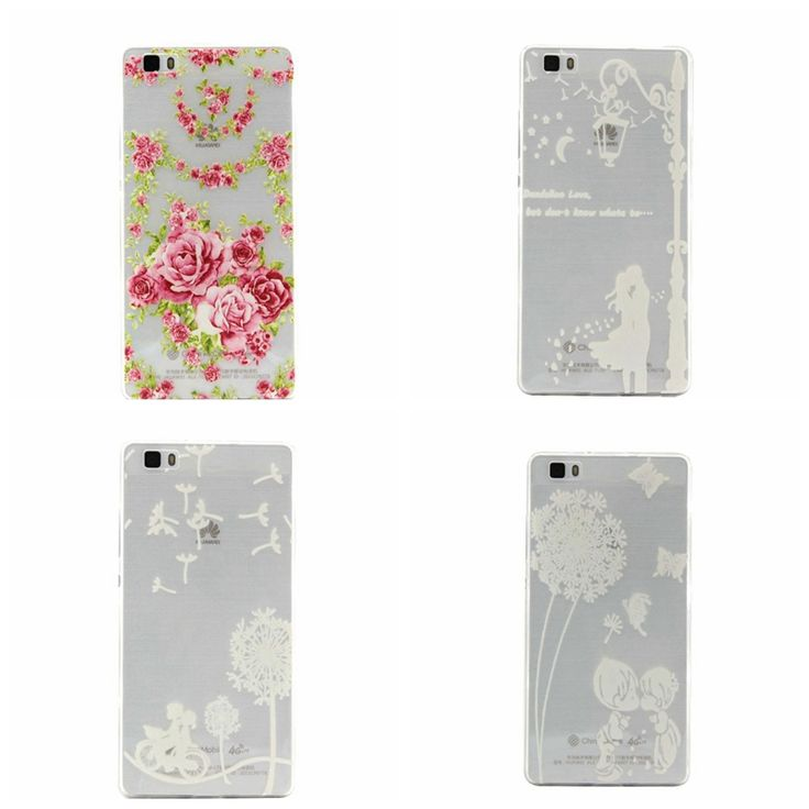 Beautiful flower roses Dandelion romantic couples Pattern TPU Back Cover Protection Cell Phone Case For Huawei P8 Lite P8 Mini //Price: $US $1.80 & FREE Shipping // #gadget