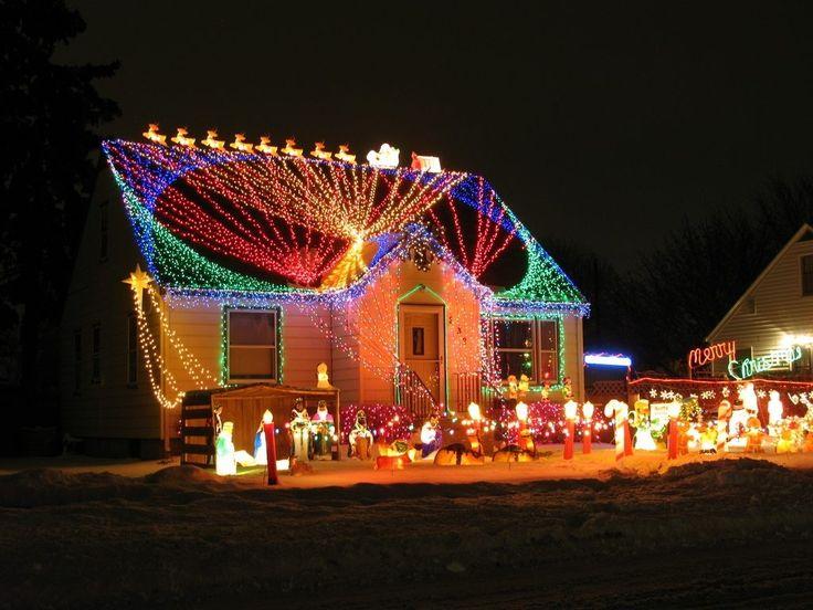 224 best christmas light show images on pinterest christmas lights home depot and home accents - Christmas Lawn Lights