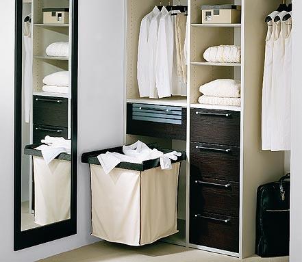 handy laundry hamper storage
