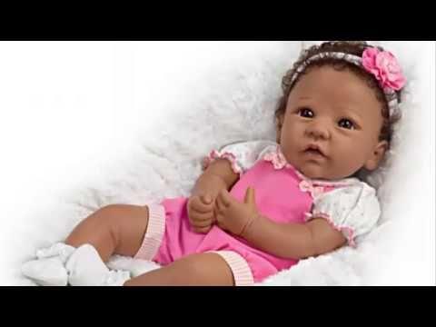 """Tasha"" Silicone Baby Girl Doll"