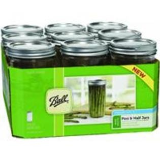Ball Wide Mouth Pint And Half Canning Jar- perfect size for a larger to-go coffee container for my cuppow.: Ball Jars, Band, Canning Jars, 24Ounc Jars, 24 Ounc, Mason Jars, Pints, Ball Wide, Wide Mouths