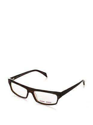 Mikli par Mikli Women's Modified rectangle Eyewear, Brown, One Size