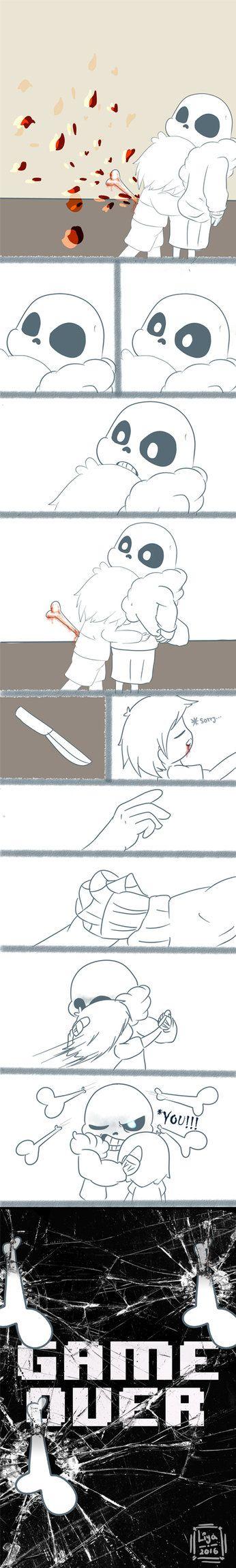 [Comic] Undertale - You! (part 2/2) by janis-roxas.deviantart.com on @DeviantArt