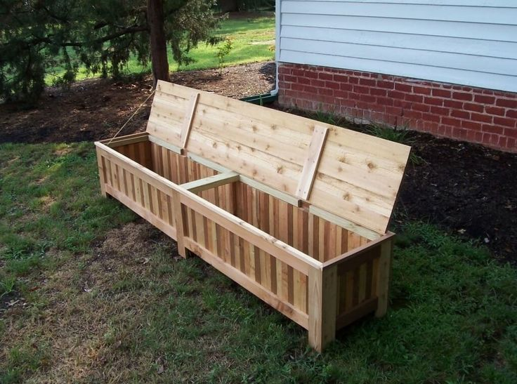 Furniture, Best Traditional Outdoor Storage Bench For Patios: Cool Outdoor Storage Bench Pictures You Might Want to See