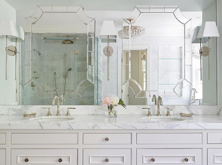 Best 25 brushed nickel bathroom mirror ideas on pinterest Bathroom wall mirrors brushed nickel