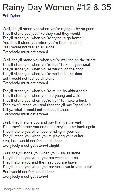 EVERYBODY MUST GET STONED | Introducing the beatles. Bob dylan. Boy meets girl
