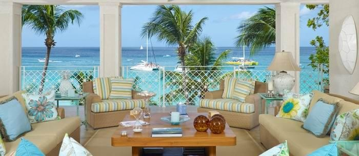 Love This out door space! What a view of the beach...