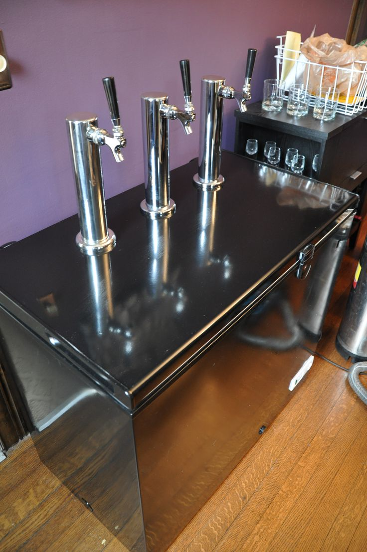 Beer tap systems for home - Final Product Beer Keezer Tap System