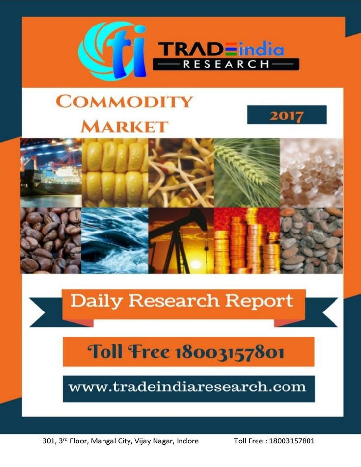 Commodity Market Daily Research Report For 04th April 2017 By TradeIn…