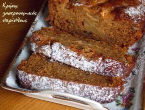 Νηστίσιμο κέικ μήλου στο μπλέντερ ή στο multi! – Κρήτη: Γαστρονομικός Περίπλους