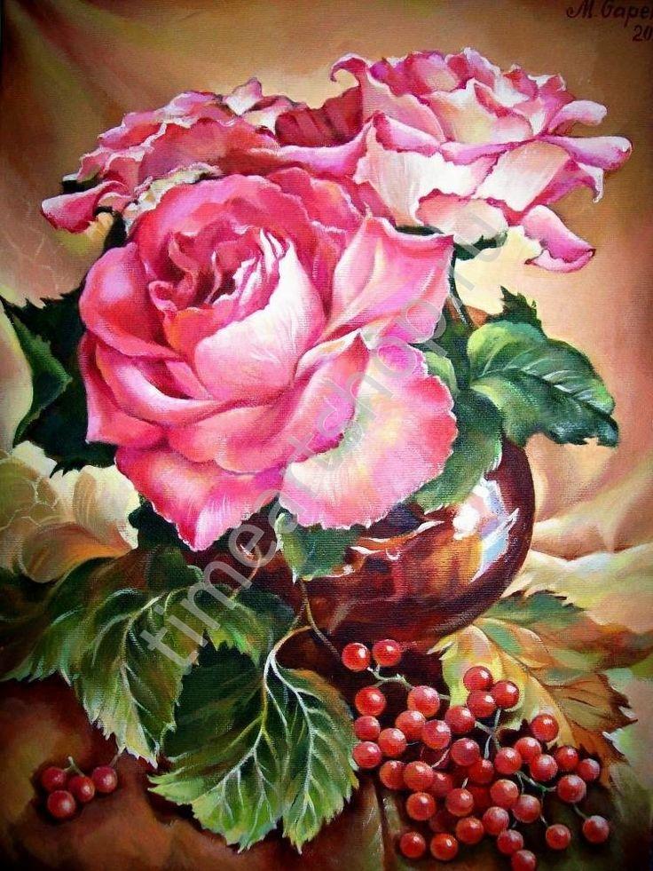 Роза картинки живопись