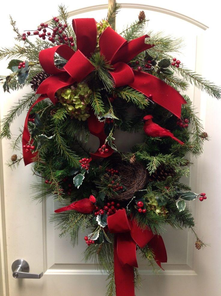 Red Bird Wreath Red Bird Wreath Pretty Wreaths