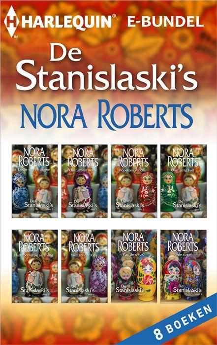 De Stanislaski's (8-in-1)  Het niet altijd gemakkelijk om een Stanislaski te zijn - of om met een Stanislaski te leven. Maar al geeft hun Oekraïense temperament nogal eens strubbelingen het zorgt ook voor alles wat zo ontwapenend aan de familie is. Hun hartelijkheid en gastvrijheid. Hun onvoorwaardelijke loyaliteit ongeacht de vele kibbelpartijtjes of hooglopende conflicten. (1) LIEDJE VAN VERLANGEN - het verhaal van Natasha Natasha is de oudste van de familie. Omdat ze zich al jong aan de…