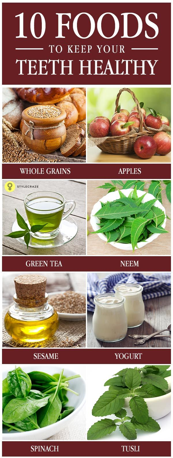 Smart and #healthyfood also helps to keep teeth healthy. So here are the top 10 healthy food for your teeth.