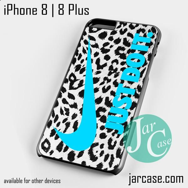 nike leopard just do it Phone case for iPhone 8 | 8 Plus
