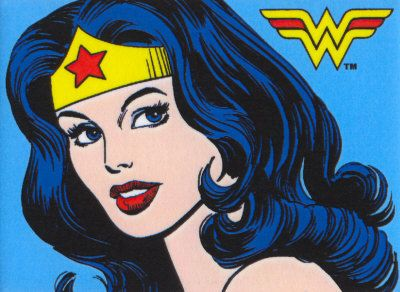 Retrô Wonder Woman