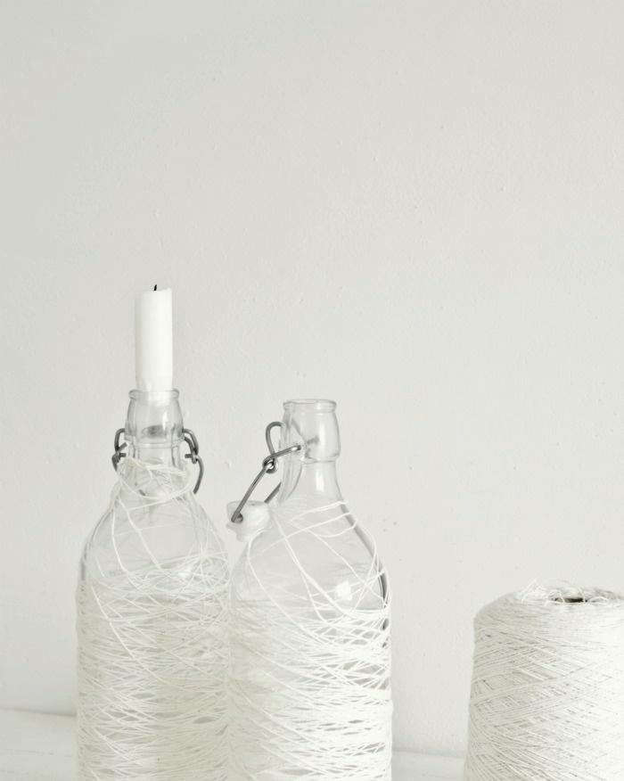 thread and bottles