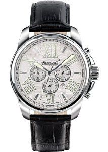 Ingersoll Men's IN3216SL Automatic Waddell Watch Ingersoll. $300.00. Hardened mineral crystal. Roman numerals. Exhibition back; German design. Water-resistant to 99 feet (30 M). Automatic movement
