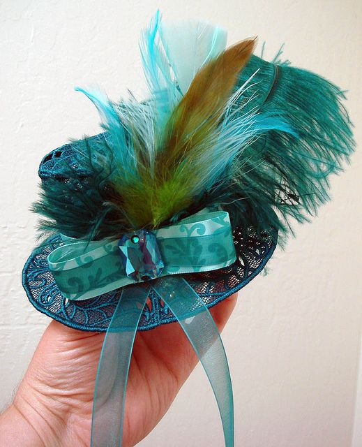 ... Miniature hats etc on Pinterest | Mini top hats, Mad hatter hats and