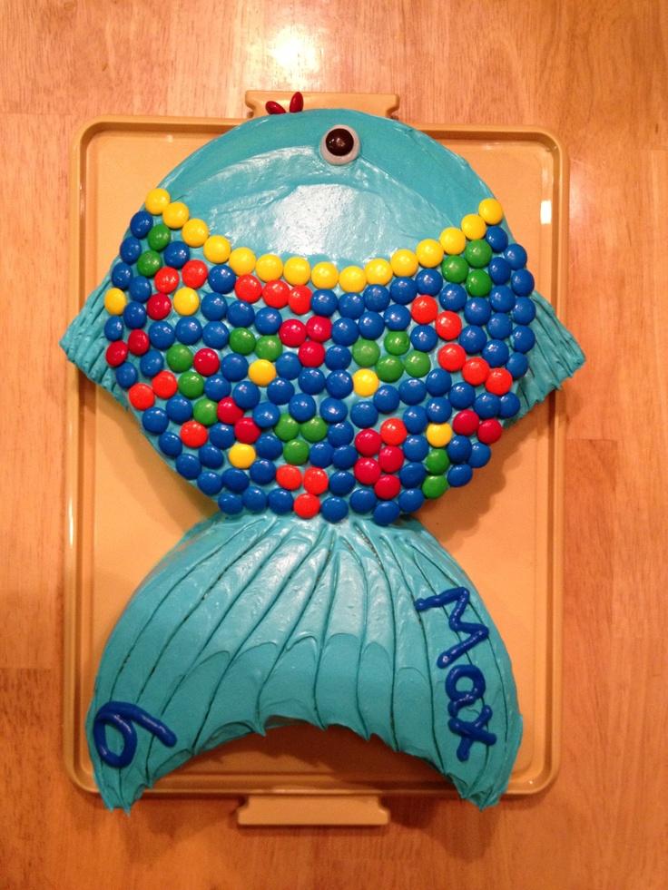 Max 39 s fish birthday cake parties pinterest smash for Fish birthday cake