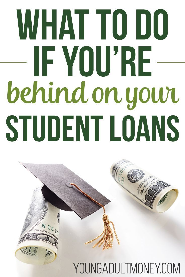 What To Do If You Are Behind On Your Student Loans Student Loan Default Student Loans Paying Student Loans
