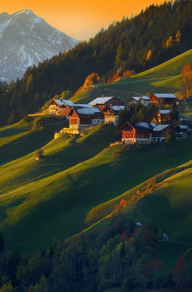 Val di Funes, Tirol do Sul, Bolzano in Trentino-Alto Adige, Itália  Foto by Simone Panzeri.