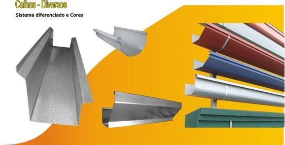 Diversos modelos e Tipos de Calhas, Confira - Calhas e Rufos Sorocaba | Exaustores Eolicos