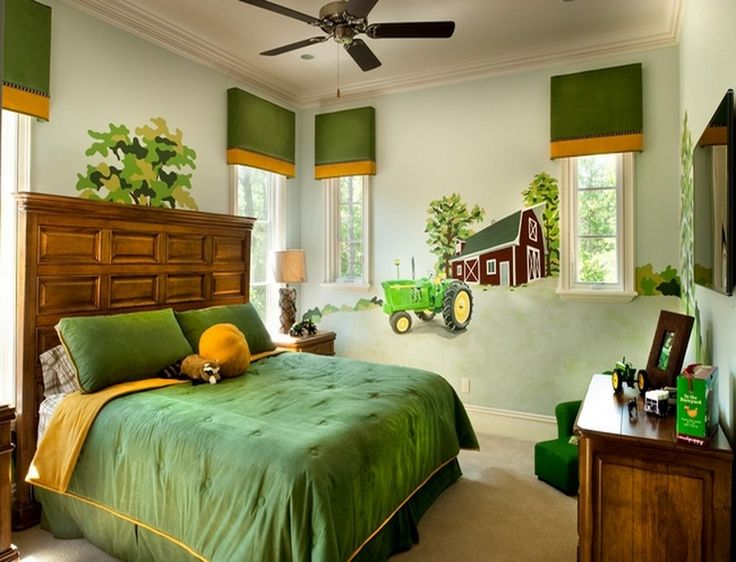 John Deere Boys Bedroom : Best ideas about tractor bedroom on pinterest boys