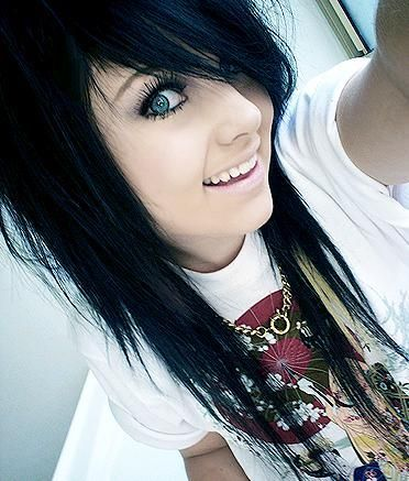 Best Hair Images On Pinterest Clothes Curl Formers And Emo Hair - Emo girl hairstyle video