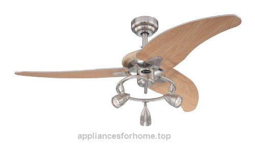 7850500 Elite 48-Inch Brushed Nickel Indoor Ceiling Fan, Light Kit with Three Spotlights  Check It Out Now     $176.18    The Westinghouse Elite Indoor Ceiling Fan adds a contemporary, cutting-edge touch to any room. Featuring tapered bla ..  http://www.appliancesforhome.top/2017/03/18/7850500-elite-48-inch-brushed-nickel-indoor-ceiling-fan-light-kit-with-three-spotlights/