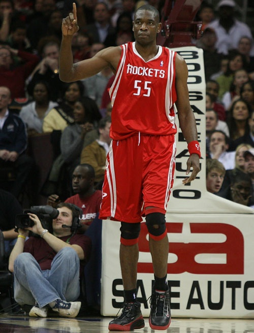 Dikembe Mutombo Houston Rockets