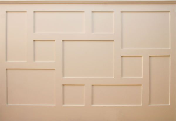 Geometric millwork | Design Options - Wainscot Solutions, Inc.
