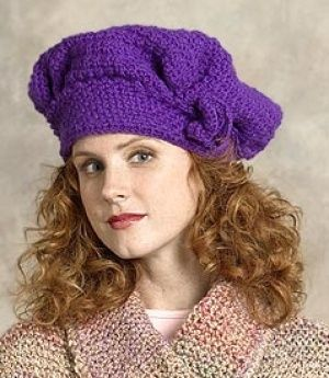 Inspired by a pattern from our 1916 book, this crochet Square Tam o'Shanter pattern has been updated and is free on LionBrand.com!