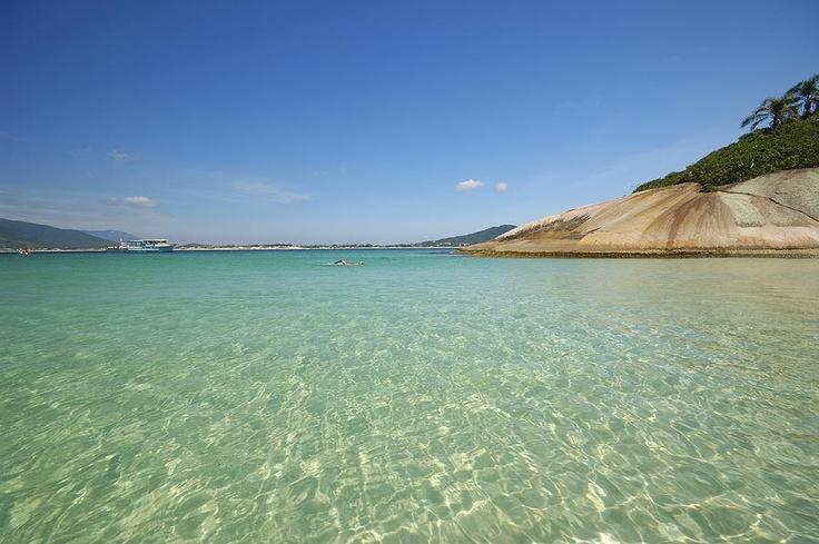Ilha do Campeche.