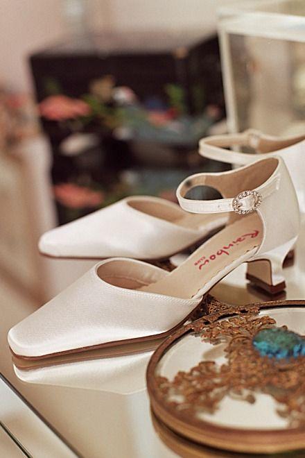Rainbow Bliss Brautschuh Amber weiß - Braut Boutique